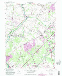 Download a high-resolution, GPS-compatible USGS topo map for Monmouth Junction, NJ (1982 edition)