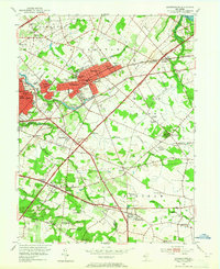 Download a high-resolution, GPS-compatible USGS topo map for Moorestown, NJ (1965 edition)