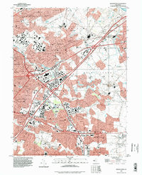 Download a high-resolution, GPS-compatible USGS topo map for Moorestown, NJ (1998 edition)