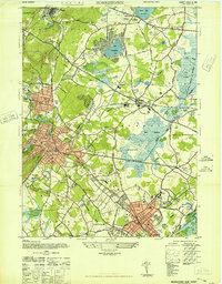 Download a high-resolution, GPS-compatible USGS topo map for Morristown, NJ (1947 edition)