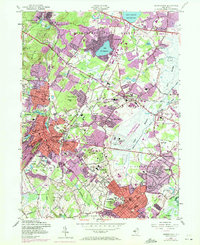 Download a high-resolution, GPS-compatible USGS topo map for Morristown, NJ (1972 edition)