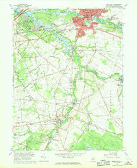 Download a high-resolution, GPS-compatible USGS topo map for Mount Holly, NJ (1969 edition)