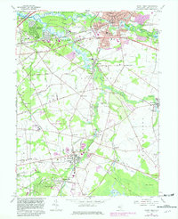 Download a high-resolution, GPS-compatible USGS topo map for Mount Holly, NJ (1982 edition)