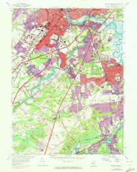 Download a high-resolution, GPS-compatible USGS topo map for New Brunswick, NJ (1972 edition)