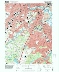 Download a high-resolution, GPS-compatible USGS topo map for New Brunswick, NJ (2000 edition)