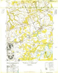 Download a high-resolution, GPS-compatible USGS topo map for New Egypt, NJ (1948 edition)