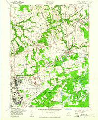 Download a high-resolution, GPS-compatible USGS topo map for New Egypt, NJ (1961 edition)