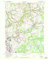 Download a high-resolution, GPS-compatible USGS topo map for New Egypt, NJ (1972 edition)