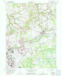 Download a high-resolution, GPS-compatible USGS topo map for New Egypt, NJ (1992 edition)