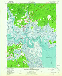 Download a high-resolution, GPS-compatible USGS topo map for New Gretna, NJ (1962 edition)