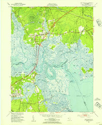 Download a high-resolution, GPS-compatible USGS topo map for New Gretna, NJ (1954 edition)