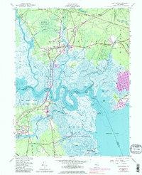 Download a high-resolution, GPS-compatible USGS topo map for New Gretna, NJ (1981 edition)