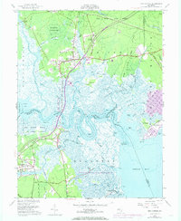 Download a high-resolution, GPS-compatible USGS topo map for New Gretna, NJ (1973 edition)