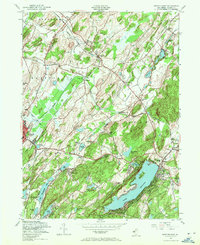 Download a high-resolution, GPS-compatible USGS topo map for Newton East, NJ (1971 edition)