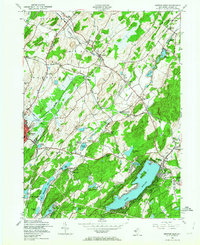 Download a high-resolution, GPS-compatible USGS topo map for Newton East, NJ (1964 edition)