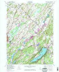 Download a high-resolution, GPS-compatible USGS topo map for Newton East, NJ (1974 edition)