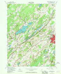 Download a high-resolution, GPS-compatible USGS topo map for Newton West, NJ (1970 edition)