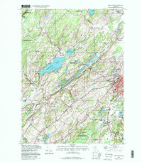 Download a high-resolution, GPS-compatible USGS topo map for Newton West, NJ (1998 edition)