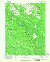 Download a high-resolution, GPS-compatible USGS topo map for Newtonville, NJ (1968 edition)