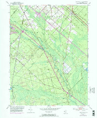 Download a high-resolution, GPS-compatible USGS topo map for Newtonville, NJ (1973 edition)