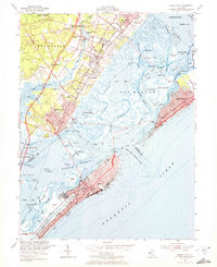 Download a high-resolution, GPS-compatible USGS topo map for Ocean City, NJ (1972 edition)