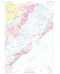 Download a high-resolution, GPS-compatible USGS topo map for Ocean City, NJ (1973 edition)