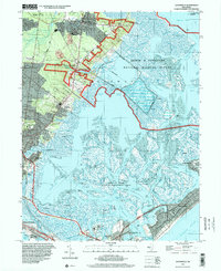 Download a high-resolution, GPS-compatible USGS topo map for Oceanville, NJ (2000 edition)