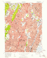 Download a high-resolution, GPS-compatible USGS topo map for Orange, NJ (1958 edition)