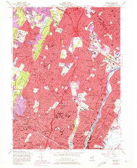 Download a high-resolution, GPS-compatible USGS topo map for Orange, NJ (1972 edition)