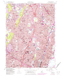 Download a high-resolution, GPS-compatible USGS topo map for Orange, NJ (1982 edition)