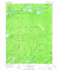 Download a high-resolution, GPS-compatible USGS topo map for Oswego Lake, NJ (1968 edition)