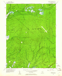 Download a high-resolution, GPS-compatible USGS topo map for Oswego Lake, NJ (1961 edition)