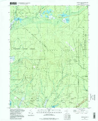 Download a high-resolution, GPS-compatible USGS topo map for Oswego Lake, NJ (1998 edition)