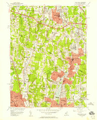 Download a high-resolution, GPS-compatible USGS topo map for Park Ridge, NJ (1958 edition)