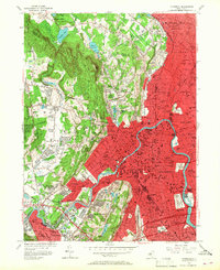 Download a high-resolution, GPS-compatible USGS topo map for Paterson, NJ (1967 edition)