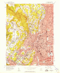 Download a high-resolution, GPS-compatible USGS topo map for Paterson, NJ (1957 edition)