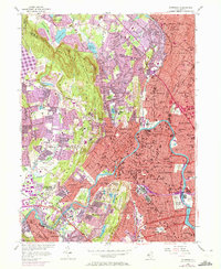 Download a high-resolution, GPS-compatible USGS topo map for Paterson, NJ (1972 edition)