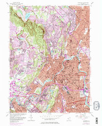 Download a high-resolution, GPS-compatible USGS topo map for Paterson, NJ (1982 edition)