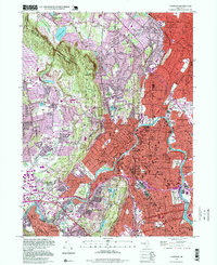 Download a high-resolution, GPS-compatible USGS topo map for Paterson, NJ (1999 edition)