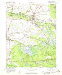 Download a high-resolution, GPS-compatible USGS topo map for Pemberton, NJ (1969 edition)