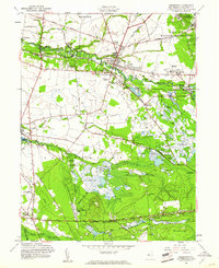 Download a high-resolution, GPS-compatible USGS topo map for Pemberton, NJ (1961 edition)