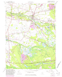 Download a high-resolution, GPS-compatible USGS topo map for Pemberton, NJ (1982 edition)