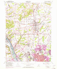 Download a high-resolution, GPS-compatible USGS topo map for Pennington, NJ (1972 edition)