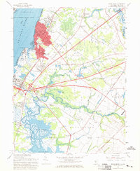 Download a high-resolution, GPS-compatible USGS topo map for Penns Grove, NJ (1969 edition)