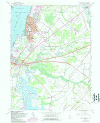 Download a high-resolution, GPS-compatible USGS topo map for Penns Grove, NJ (1987 edition)