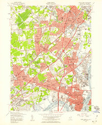 Download a high-resolution, GPS-compatible USGS topo map for Perth Amboy, NJ (1958 edition)