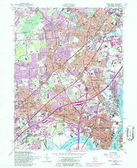 Download a high-resolution, GPS-compatible USGS topo map for Perth Amboy, NJ (1986 edition)