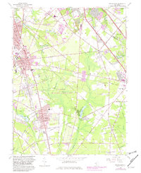 Download a high-resolution, GPS-compatible USGS topo map for Pitman East, NJ (1982 edition)