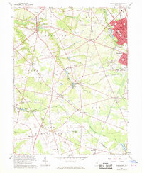 Download a high-resolution, GPS-compatible USGS topo map for Pitman West, NJ (1969 edition)