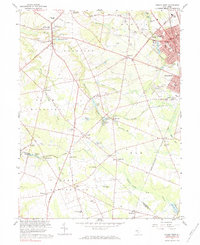 Download a high-resolution, GPS-compatible USGS topo map for Pitman West, NJ (1984 edition)